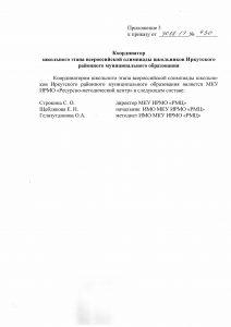 Приложение 3 к пр 430 от 30.08.17